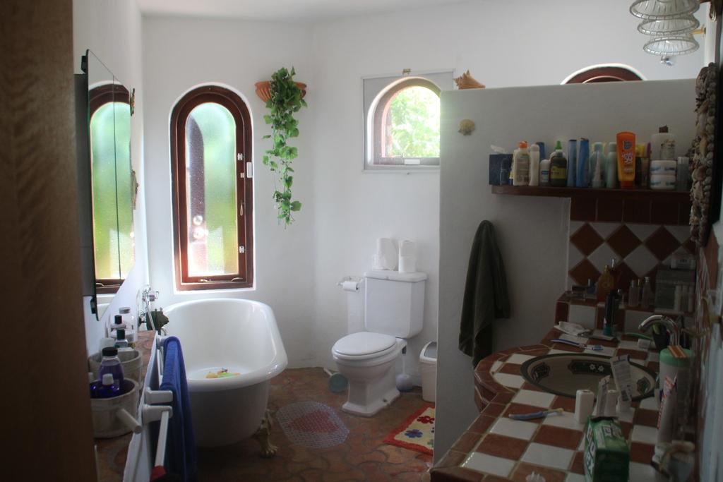 Master bathroom in mainhouse