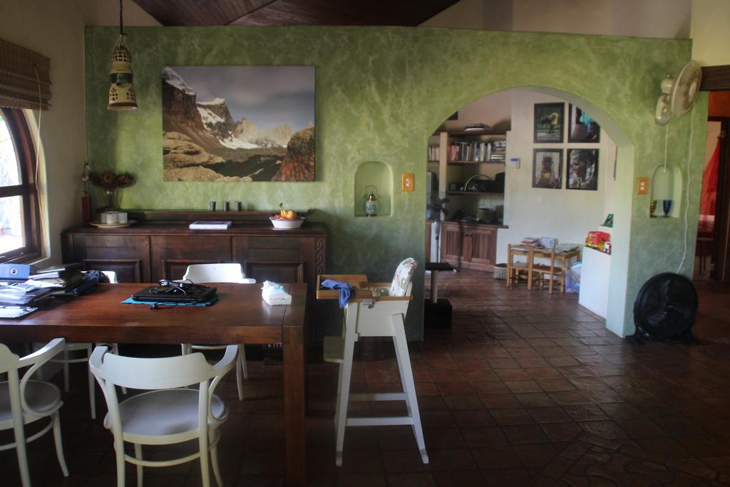 Dining area in mainhouse