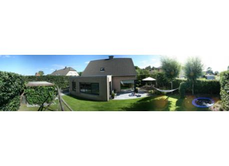 garden (panoramic photo)