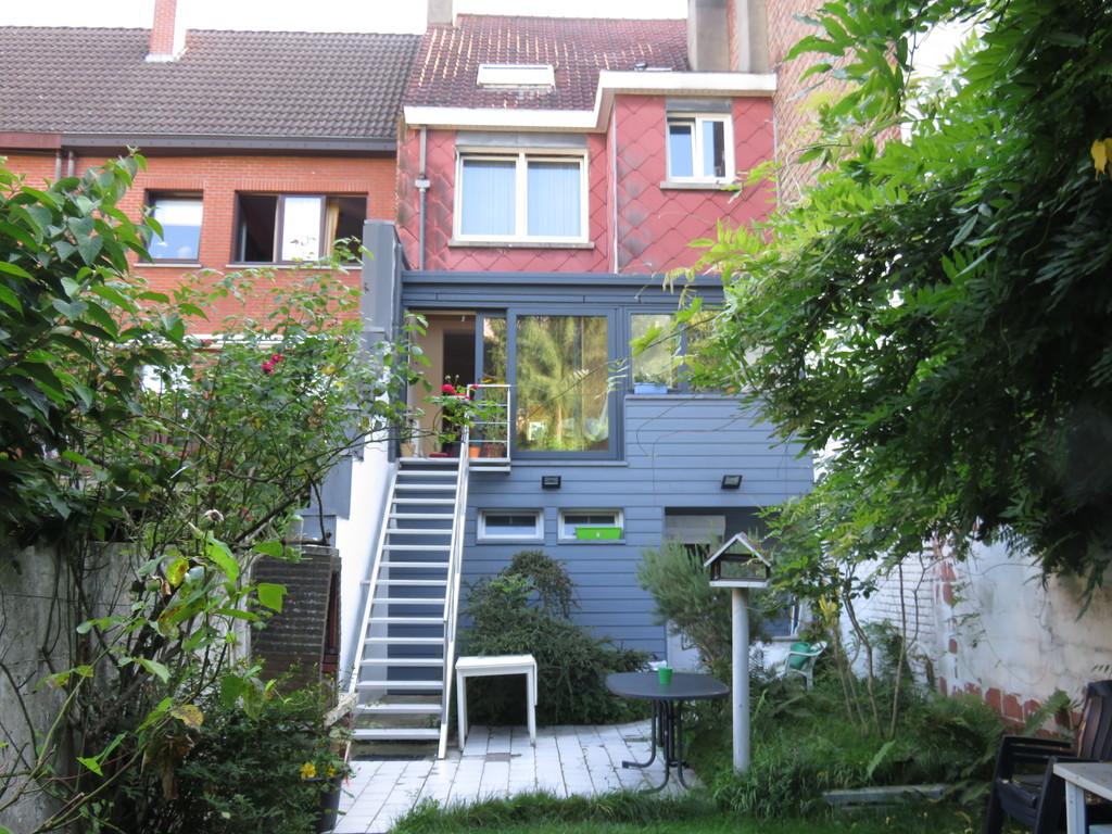 Maison, jardin et terrasse
