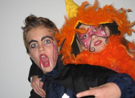 old Halloween picture