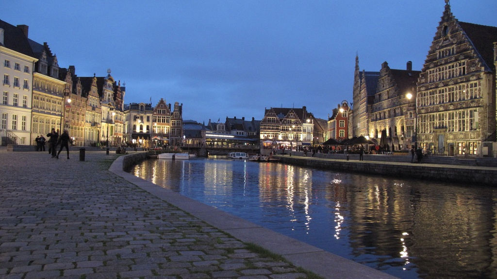 Gent (80 minutes from home)