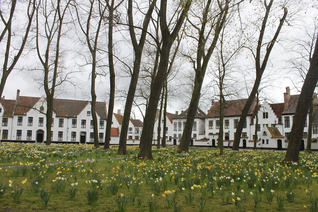 Early spring in Bruges