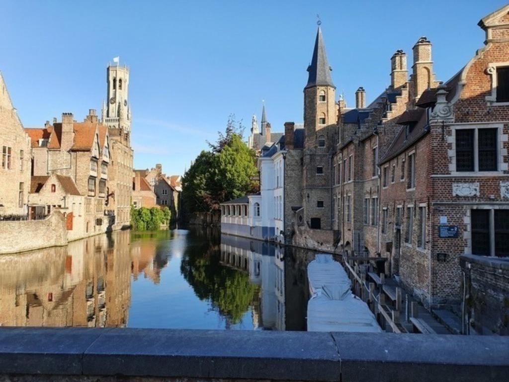 Bruges at a standstill, May 2020