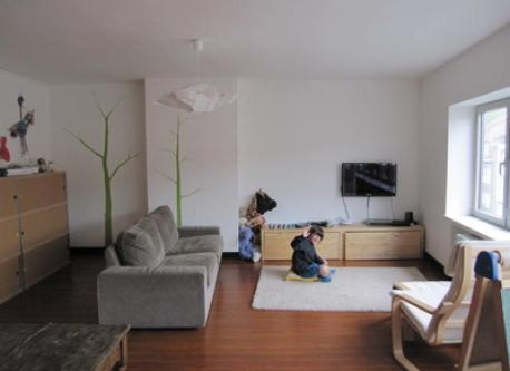 second living room (second floor) with Jorre a few years ago