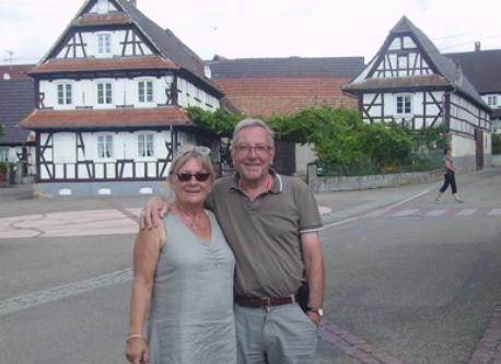 l'Alsace, France Aug 2011