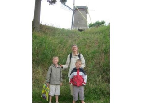 3 of us in The Netherlands many years ago