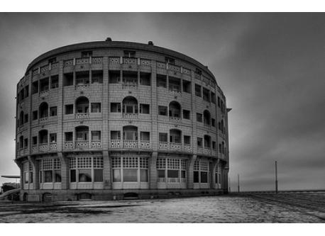 Westende - historic hotel at the beach