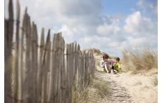 the dunes in Westende