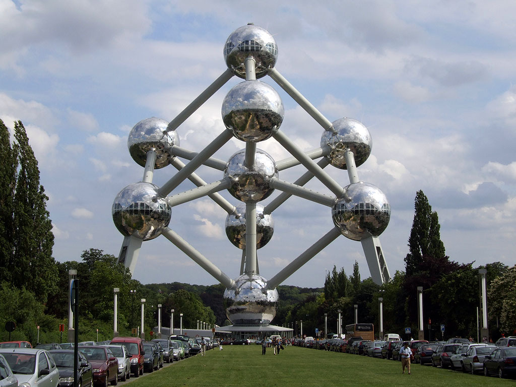 "The ""Atomium"" in Brussels"