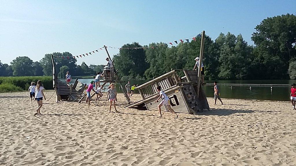 Outdoor recreation Blaarmeersen at 5 km