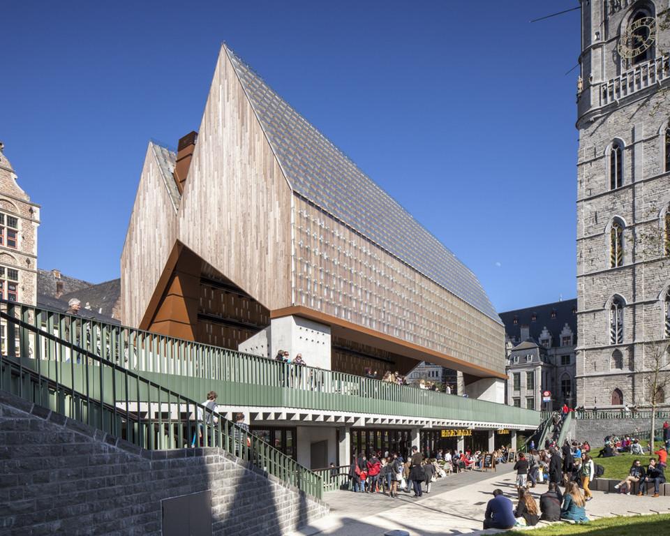 City center - architecture
