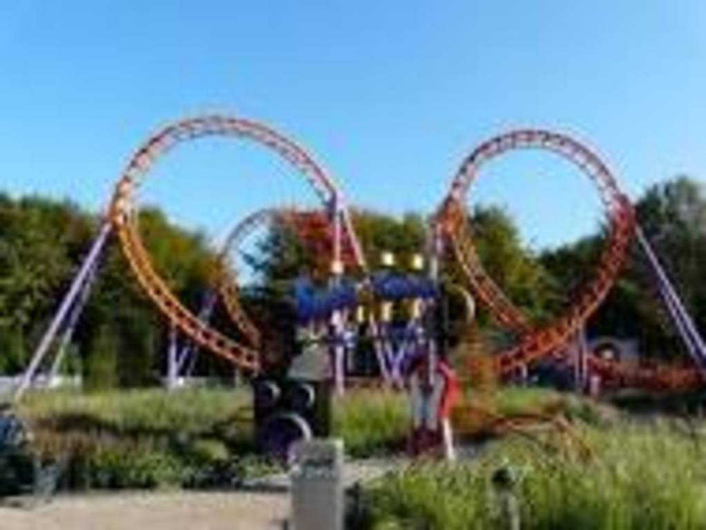 Walibi at only 17km from our home