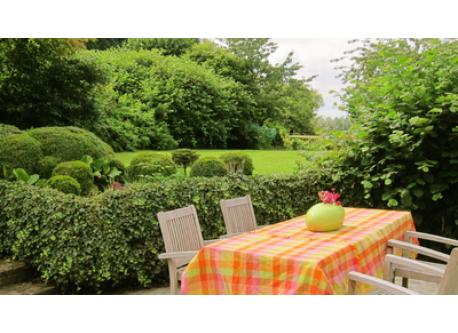 terrace & back garden