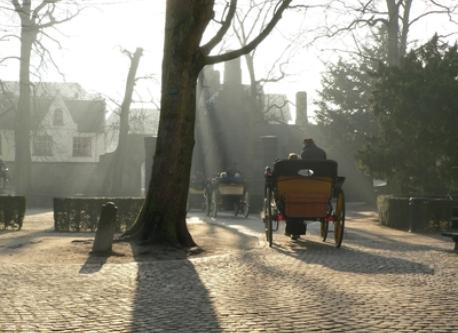 you could make a carriage ride in the historical centre