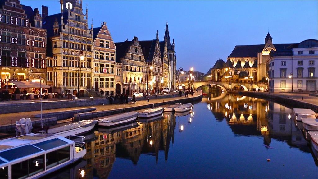 Boat trip, Ghent city centre