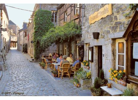 La petite ville de Durbuy.