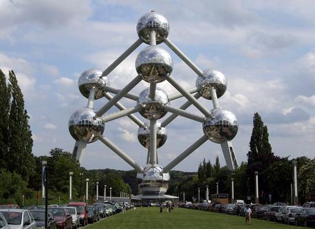 Bruxelles, l'Atomium.