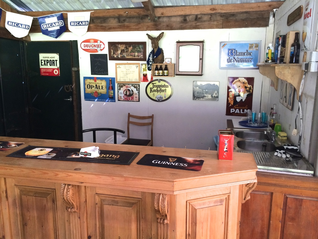 Our bar in the stable