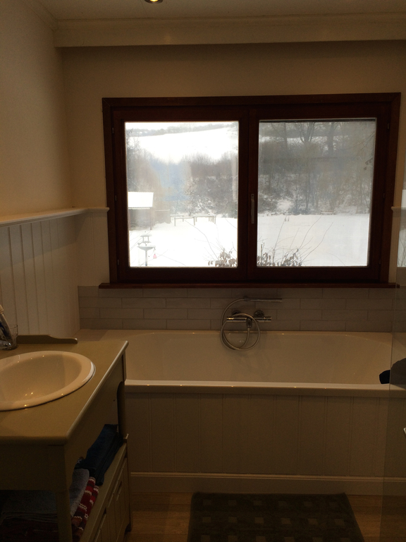 The new bathroom