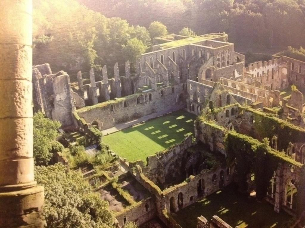 Ruins Abbey Villers la Ville