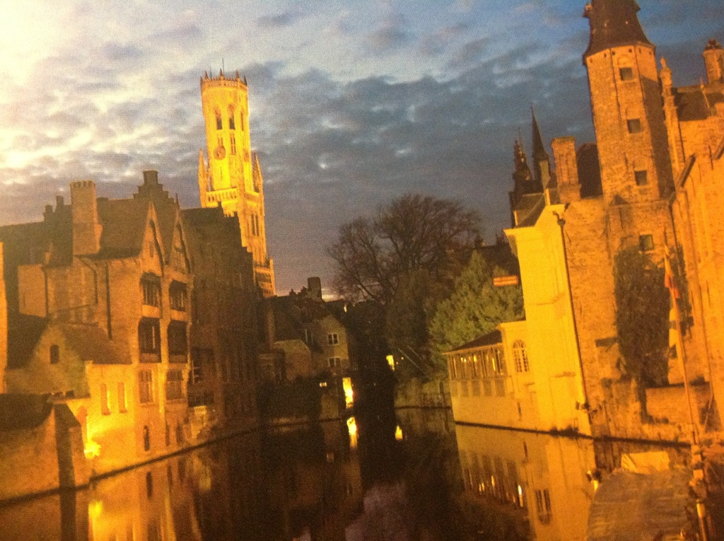 Bruges Belfort and canals