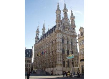 City Hall Leuven , nearest city apart from Brussels is the university city Leuven with medieval center.