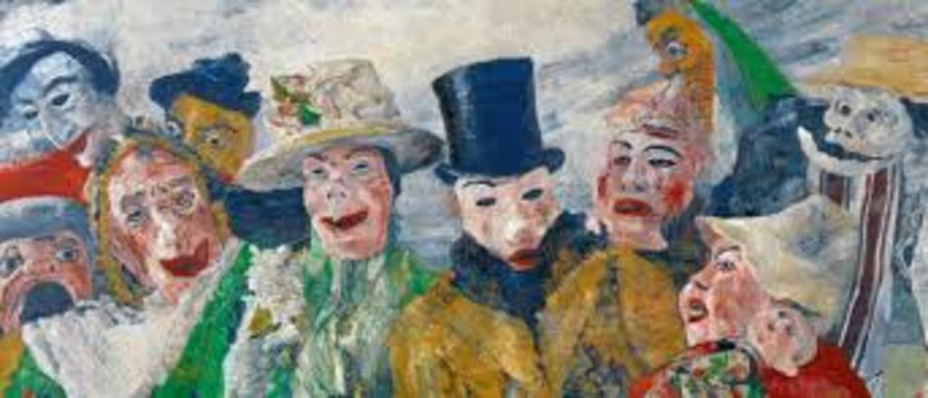 Discover the Belgian masters : James Ensor