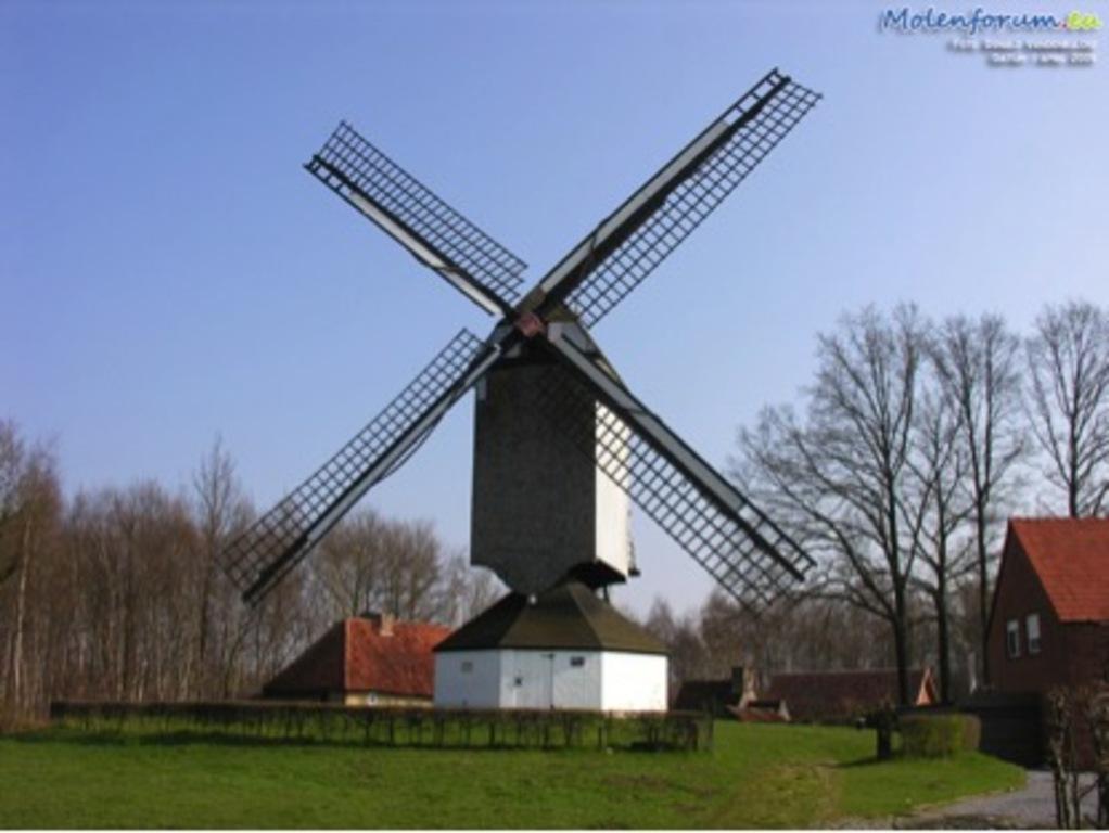 Hulshout Wooden Windmill