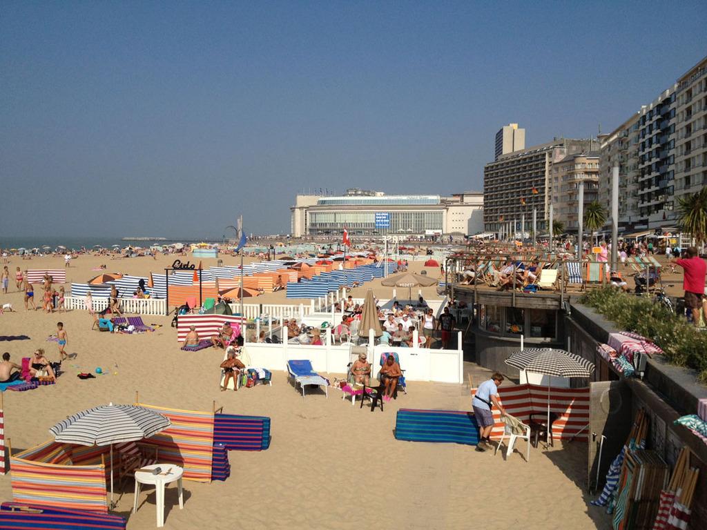 Belgium coast - 50km