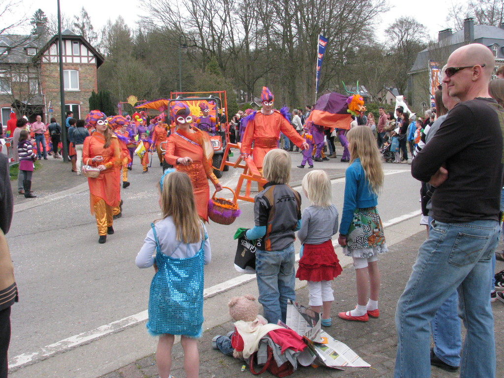 carnaval is well celebrated all around in the region (here in Stavelot)