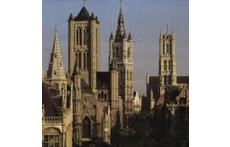 Gent : St-NIklaas church, Belfry, St-Baafs cathedral