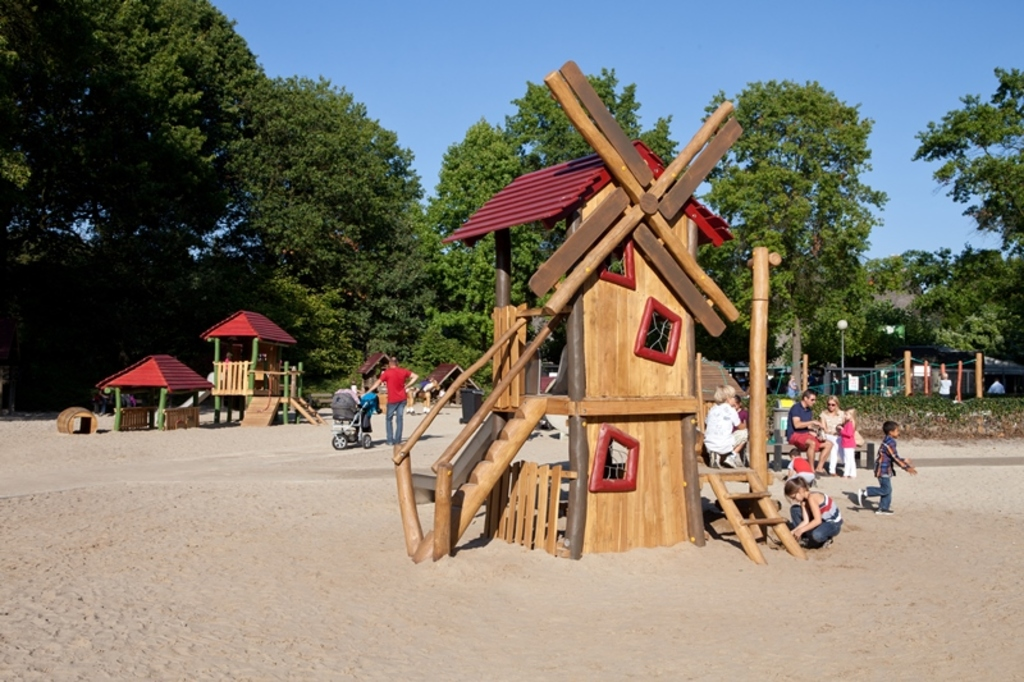Giant Outdoor Playground Bokrijk