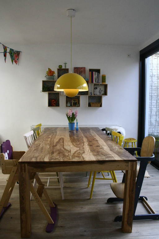 dining table (downstairs area)