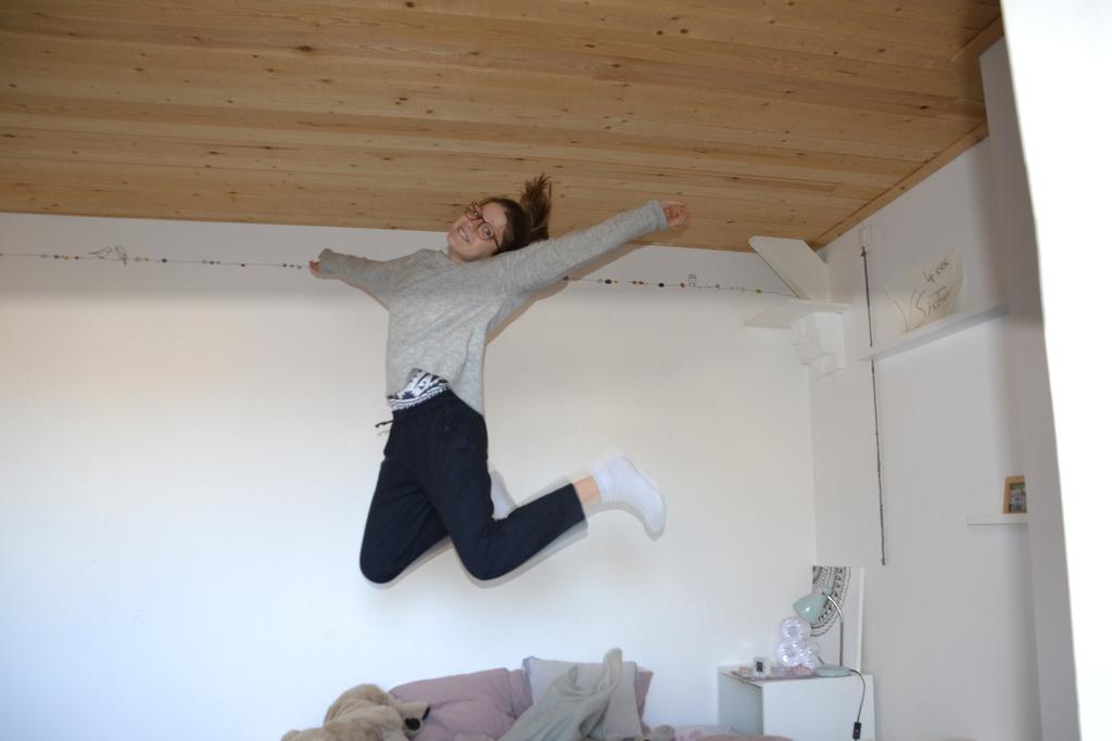 Ella jumping
