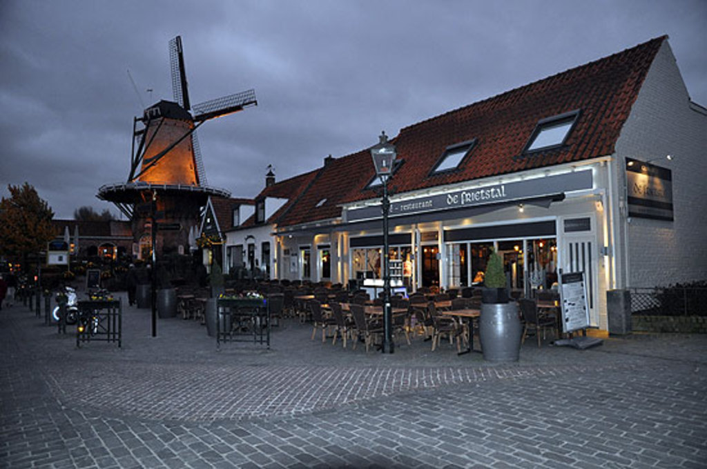 Sluis in the Netherlands