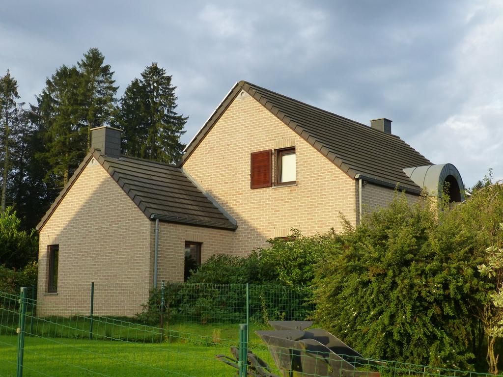 La façade Est de la maison
