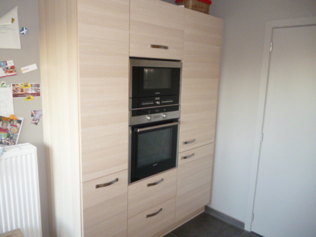 Kitchen - oven & microwave.