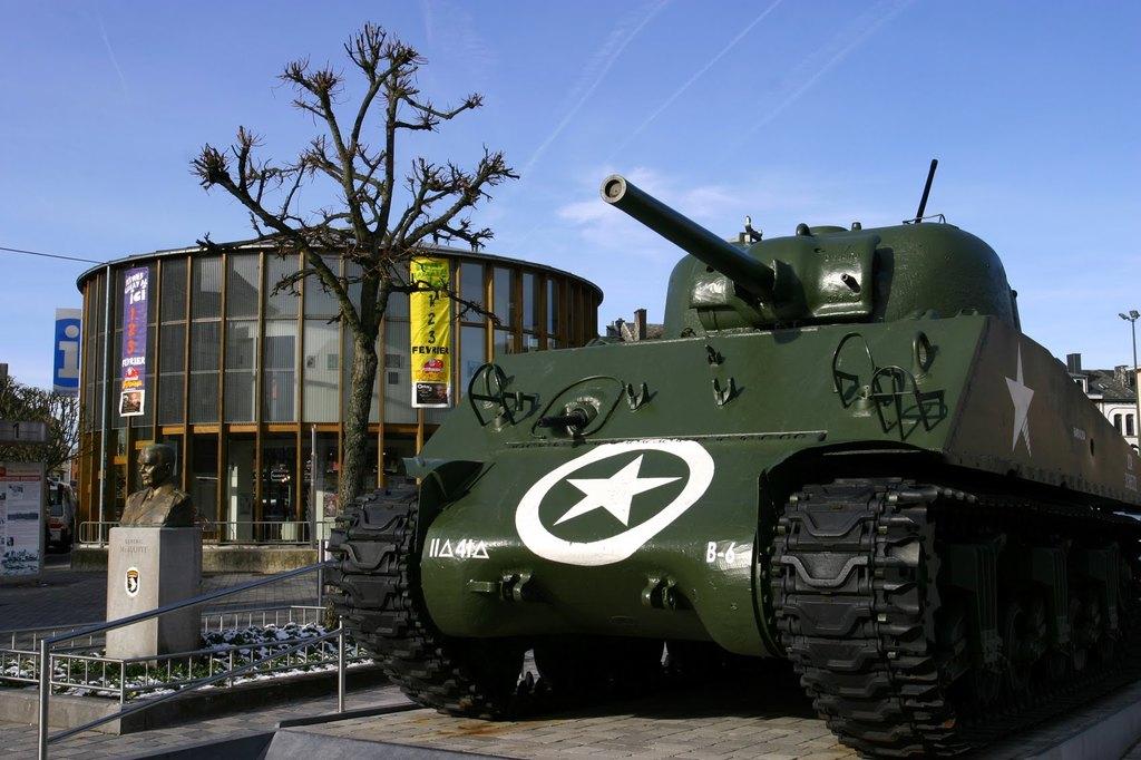 Bastogne, town of Bastogne Battle (WWII)