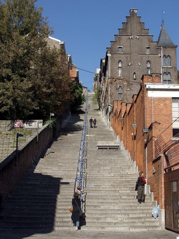 The Everest Bueren Liege , one of the 20 most hard stairs in the world ( Huffington Post)