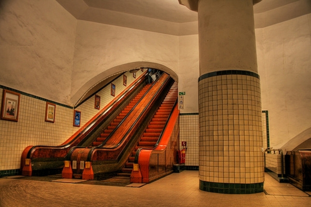 Sint Anna pedestrian tunnel (monumental)