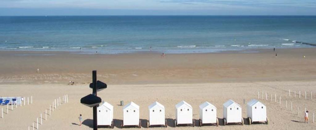 Seaside - North Sea and sand beach
