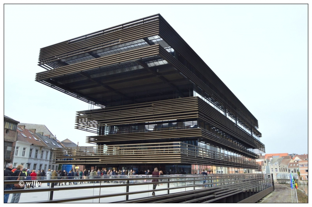 The Krook, brand new city library.