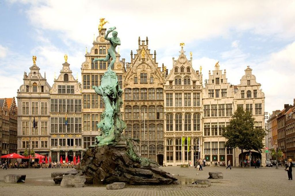 Antwerp (50 min direct train)
