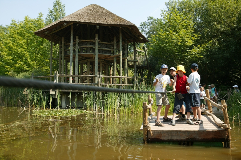 Planckendael park - great day out for children and parents! 25 min by car or bus