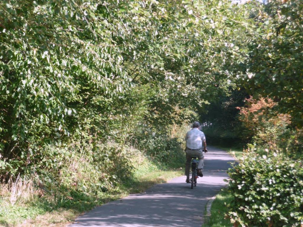 cycling Leirekensroute 300m