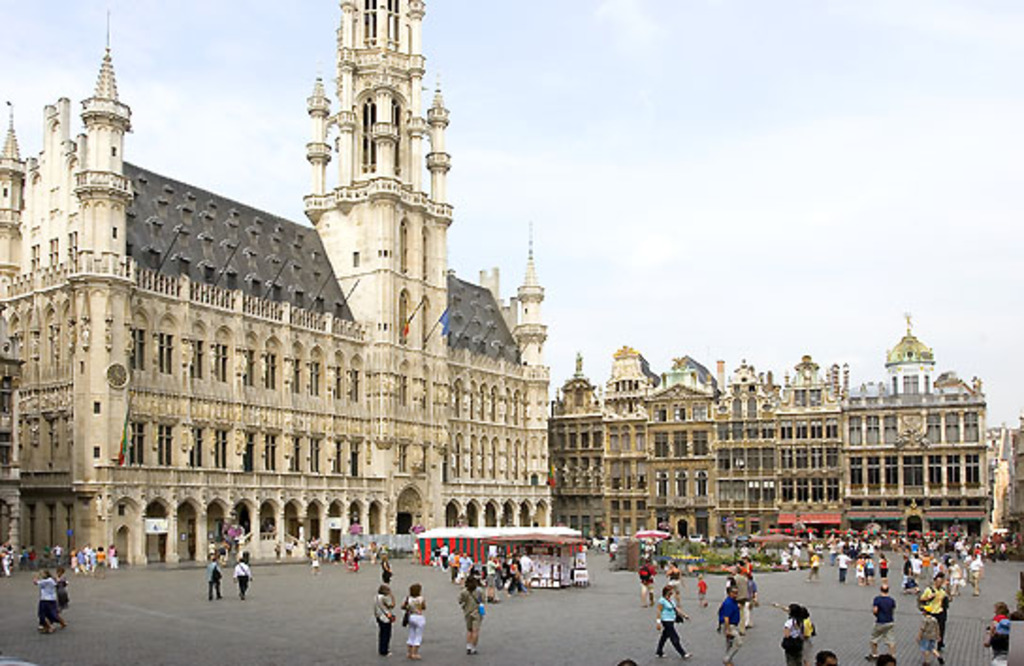 "Brussels and its famous ""Grand-Place"""