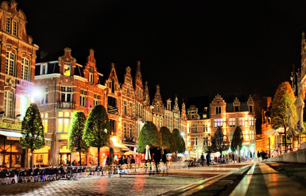 University town Leuven at 45 min