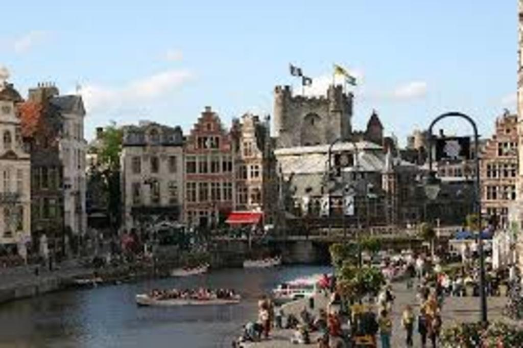 Ghent, city centre, Gravensteen