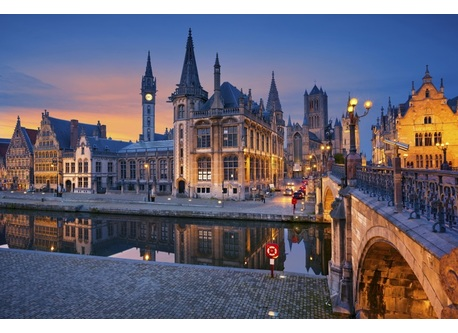 Ghent, beautifull and proud city